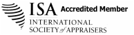 International Society of Appraisers Accredited Appraiser